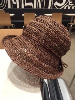 自分サイズの夏の帽子